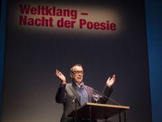Poesiefestival Berlin 2015: Eröffnung und Weltklang - Festivaldirektor Thomas Wohlfahrt  (c) Mike Schmidt