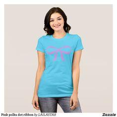 Rosa Tupfenband T-Shirt