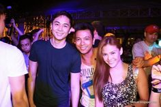 Sunday night - With Slater and Gretchen Fullido.