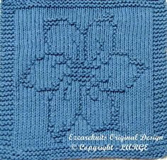 Knitting Cloth Pattern  BLOSSOM  Instant Download by ezcareknits, $3.00