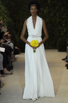 Carolina Herrera Bridal dress