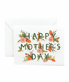 Rifle Paper Co. Garden Mother's Day #cards