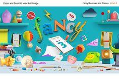 Introsale! Fanciest Scene Creators by LS on @creativemarket