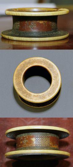 Sudan | Old bracelet from the Fur people | Ivory. Ø 9.5 cm | Est. 300 - 400 CHF ~ (June '05)