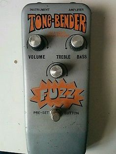 Sola Sound 70's Tone Bender Fuzz pedal - great condition   eBay