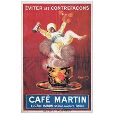 CAPPIELLO - Cafè Martin 1921 18x29 cm #artprints #interior #design #CAPPIELLO Scopri Descrizione e Prezzo http://www.artopweb.com/autori/leonetto-cappiello/EC20402