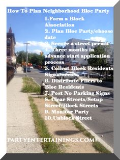 http://partyentertainings.com/our-neighborhood-block-party-success/#.Vp2KD08p0_g