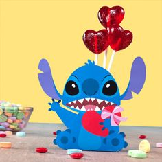 Stitch Valentine Candy Box | Printables | Spoonful... love this