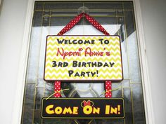 Nyomi's Minnie Mouse 3rd Birthday Party | CatchMyParty.com