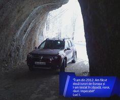 Luci a trăit multe experiențe plăcute alături de Dacia Duster. Îți mulțumim că ne-ai împărtășit o parte dintre ele! grin emoticon