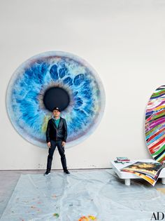 Marc Quinn eyeball