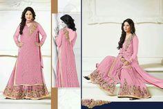 Designer Bollywood Anarkali Indian Pakistani Suit Salwar Kameez Dress RK HNK 03