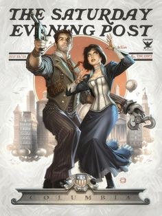 Bioshock gets the Norman Rockwell treatment