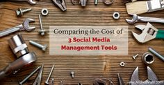 Comparing the cost of social media management tools has become harder than airline prices.  They all have such different features, configurations, and add-ons that it's almost impossible to see which one is right for you. Luckily, Ian Anderson Gray has come up with this handy cost comparison tool.  And he has some great additional points …