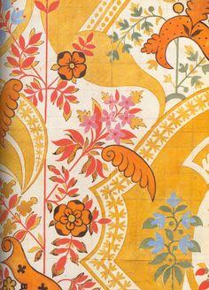 James Leman, design for silk fabric, 1711