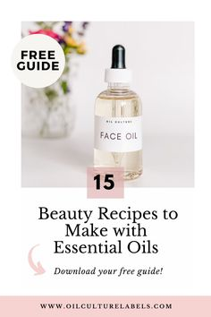 A collection of recipes made with essential oils and natural ingredients for your self care and beauty regime.
