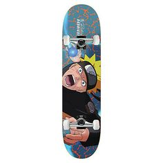 From the Exclusive Naruto collection by Primitive Skateboarding. Skateboard Deck Art, Skateboard Design, Japanese Art Styles, Black Truck, Cool Skateboards, Skate Board, Truck Art, Longboarding, Board Ideas