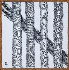 Zentangle pattern? lines