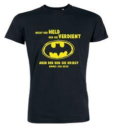 Nicht der Held den sie verdient - JGA T-Shirt Männer