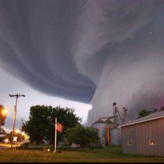 Tornado, Iowa.