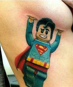 Lego Superman Lifting Boob... Funny