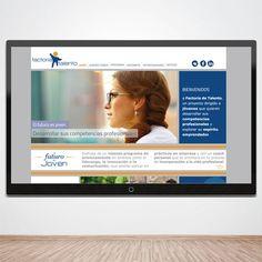 Diseño y programación Factoría de talentos (en proyecto) www.factoriatalentos.com www.monoermo.com