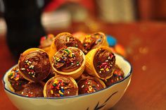Heladitos de chocolate