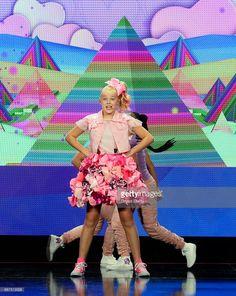 Singer/dancer/social media influencer JoJo Siwa performs during Nickelodeon's presentation at Licensing Expo 2017 at the Four Seasons Hotel Las Vegas on May 23, 2017 in Las Vegas, Nevada.