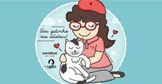 Um gatinho me adotou!!  Carinhas para o Clube do Gato de Brasília  > http://carinhas.de/ClubeGato