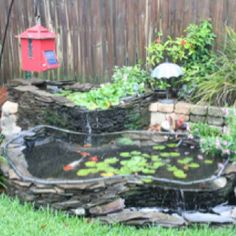 1000 Images About Ponds Fountains And Garden Waterfalls On Pinterest Koi Ponds Ponds And