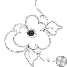 Fun Flower 2 Embroidery Design | CD