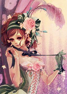 Pretty Girl Boudoir by Hiromi Matsuo