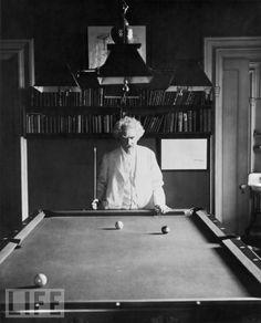 Mark Twain. Literary giant.
