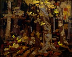 Tom Thomson Catalogue Raisonné   Wood Interior, Autumn, Algonquin Park, Fall 1914 (1914.85)   Catalogue entry
