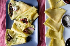 failproof crepes + a crepe party – smitten kitchen Crepe Recipes, Brunch Recipes, Breakfast Recipes, Dessert Recipes, Desserts, Brunch Food, Sunday Brunch, Party Recipes, Dessert Ideas