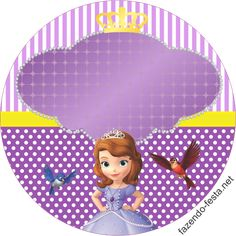 A ton of free editable Sofia birthday decorations! The site is in spanish but… Sofia The First Cake, Sofia The First Birthday Party, 3rd Birthday, Princess Sofia Party, Princess Sofia The First, Princesse Party, Princes Sofia, Creative Party Ideas, Happy 1st Birthdays