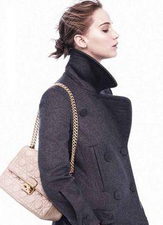 Jennifer Lawrence for Dior. via StyleList