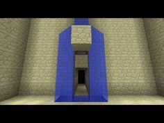 ▶ Waterfall Splitter/Secret Door i.e. Batcave Entrance [Minecraft Redstone Tutorials] - YouTube