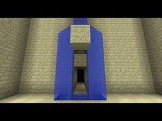▶ Waterfall Splitter/Secret Door i.e. Batcave Entrance [Minecraft Redstone Tutorials] - YouTube