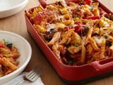 Picture of Baked Penne with Roasted Vegetables Recipe...one of the best dishes I have ever made. Add chicken if you need meat or serve a roast chicken on the side.