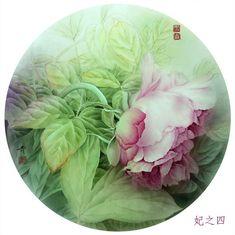 Japan Painting, Fabric Painting, Watercolor Paintings, Watercolours, Botanical Flowers, Botanical Art, Vintage Drawing, Vintage Art Prints, Asian Art