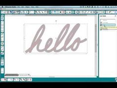 Creating Single Line Sentiments on an iPad for your Diecutter - YouTube by Kay at CleverSomeday