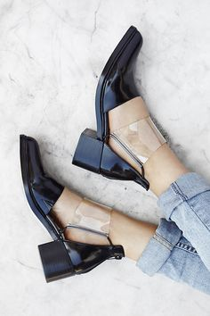 Strut Cutout Chelsea Boot by #ShoeCult by