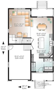To Make A Master Suite Put 2 Bedrooms And A Bath In The Basement