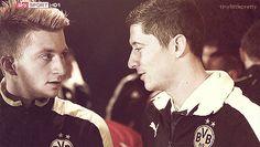 Marco Reus & Robert Lewandowski