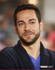 Zachary Levi- Oh God that is some gorgeous facial hair