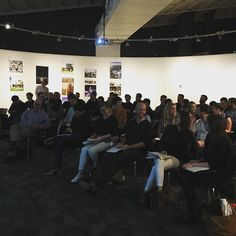 A huge crowd at the first Australian Institute of Architects PALS night. #Registration #RAIA #PALS #networking