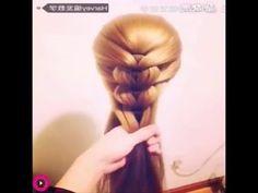 çok basit ve çok güzel saç modelleri (ABONE OL) - YouTube