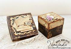 Blog studio75.pl: Exploding box i pudełko prezentowe / Exploding and gift box