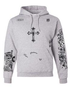 Justin Bieber body Tattoo women hooded sweatshirt - ALLNTRENDSHOP - 4